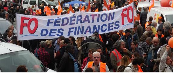 Mobilisation du 10 octobre 2017 à l'appel des 9 syndicats de la fonction publique