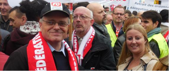 Les agents de l'État ont manifesté dans toute la France le 10 octobre 2017